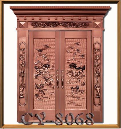 stainless steel decorative doors in jinyun park - Decorative Doors