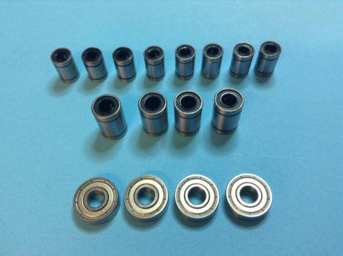 Bearing kit for smartrap 3D printer Reprap DIY linear bearing ball bearing set
