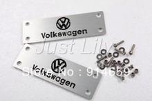 Алюминиевый сплав Carmats эмблема для VW с логотип