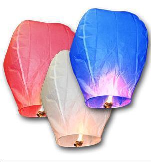 Wedding Balloon Oval shape Sky Lanterns, Wish Lamp Kongmin Lights For Festival /9 Colors Optional(China (Mainland))