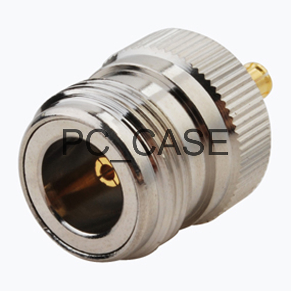RF MCX-N adapter electrical wire terminal connector MCX plug to N female goldplated straight for wireless antenna(China (Mainland))