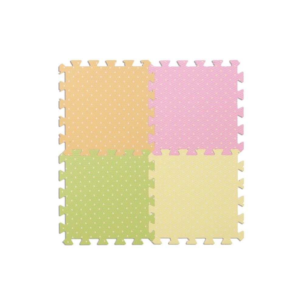 Sweet Heart TextureBaby Toy Kid Game Gym Pad Children Crawling Eva Foam Puzzle Play Mat 30