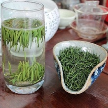 Green Tea 2015 Spring Needles Ahead Of Mining Bud Gong Ming Baokang Hubei Mountain Mist Farmers