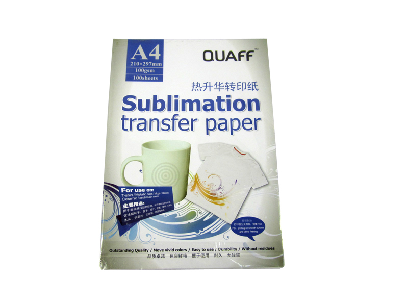 100pcs/lot!! Heat Transfer Paper for Printing Sublimation Transfer Paper A4 46*32*14CM(China (Mainland))