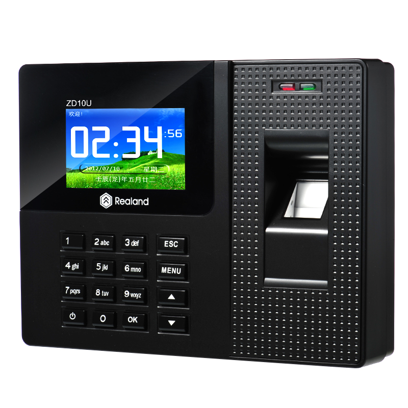 2.8 Inch ID Card Finger Print and Password Time Attendant Access Control System(China (Mainland))