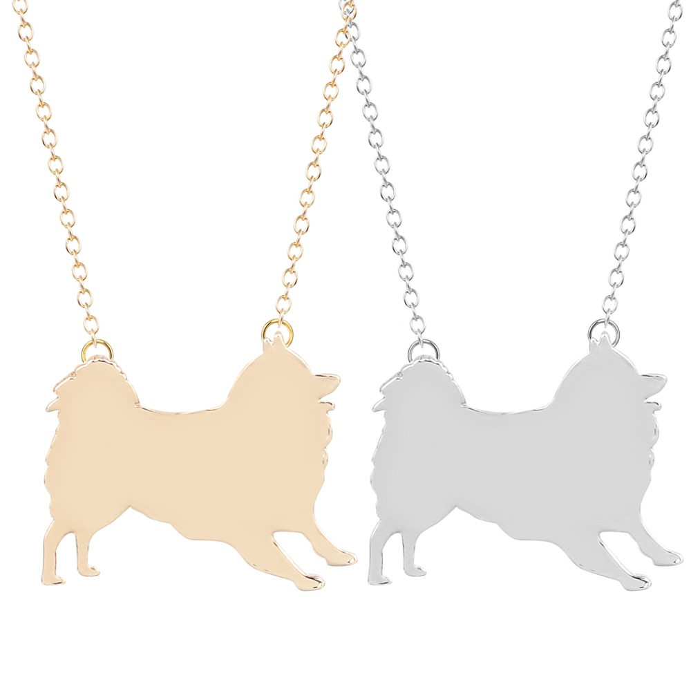 30pcs/lot Pomeranian Necklace Medium-Sized Samoye Dog Jewelry for Pet Lovers<br><br>Aliexpress