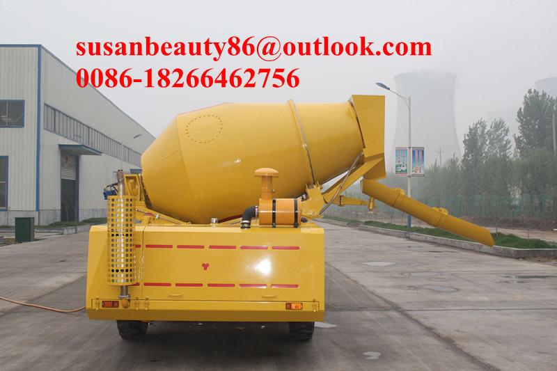 NEW condition Europen engine food mixer 3.5m3 , concrete mixer(China (Mainland))