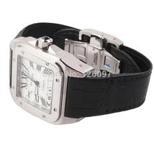 Cesta reloj de la marca con viento alta calidad de hombre mujer vestido reloj mecánico pulsera del reloj del negocio SS00185