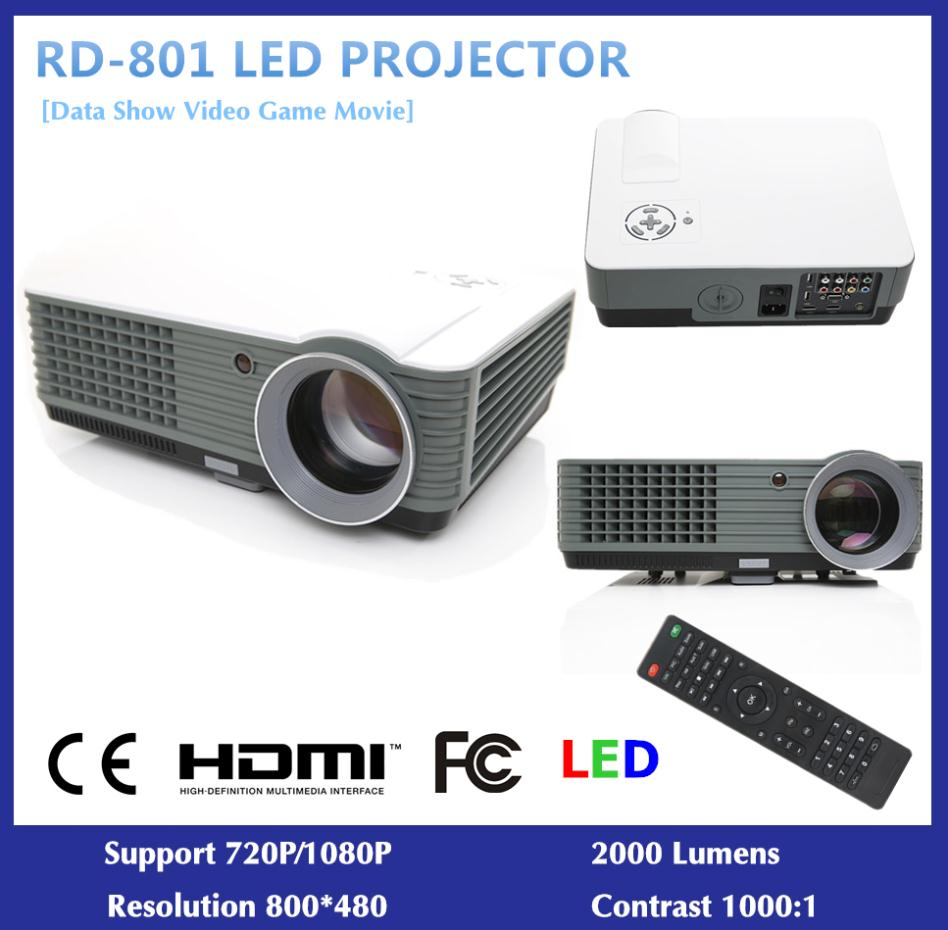 2000 Lumens Full Hd 1080p Led Lcd 3d Vga Hdmi Tv Home: Home-Theater-LED-Projector-Full-HD-2000-Lumens-Support