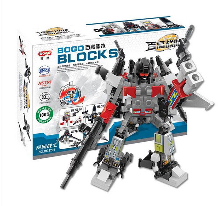 2014 new high quality Building Blocks Minifigures 4 in 1 Combiner Various Models Transformation Robots Cars action figure(China (Mainland))