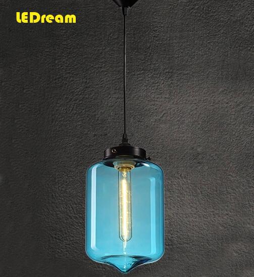 Italian designer art chandelier creative restaurant glass chandelier bedroom lamps and lanterns lamp transparent Nordic bar(China (Mainland))