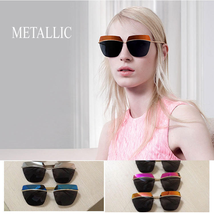 Futuristic Metallic Fashion Futuristic Glasses Fashion