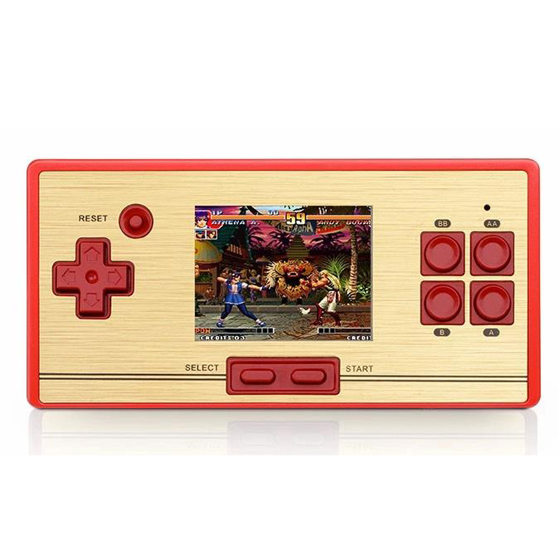 Hot sale FC pocket 30 anniversary nostalgia game children's handheld game player 2.6 inch color screen game console game boy(China (Mainland))