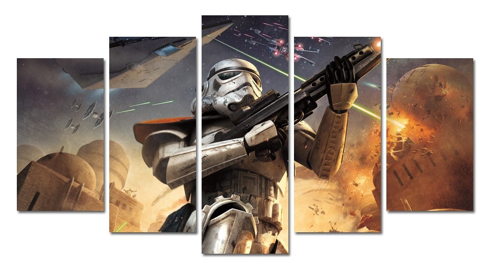 w wholesale star wars painting