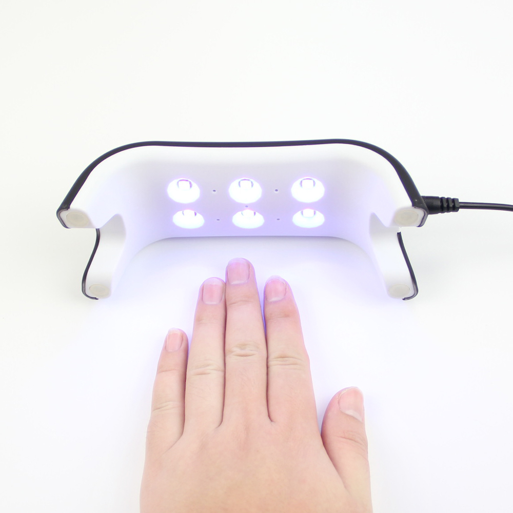 2017 UV Lamp 12W Nail Dryer 365+405nm White Light LED Lamp Support USB Charger Cure LED Nail Gel Machine For Drying Nail Polish(China (Mainland))