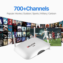 Buy Latest Quad Core Smart Android TV Box 1G/8G 1Year Free 700 IPTV Channels Europe Arabic French Italy Canal IPTV TV Box for $59.97 in AliExpress store