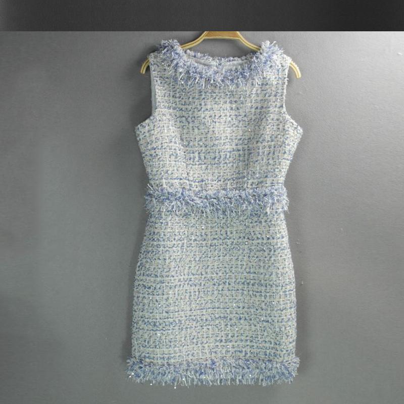 Light Blue Sequin Dress Promotion-Shop for Promotional Light Blue ...