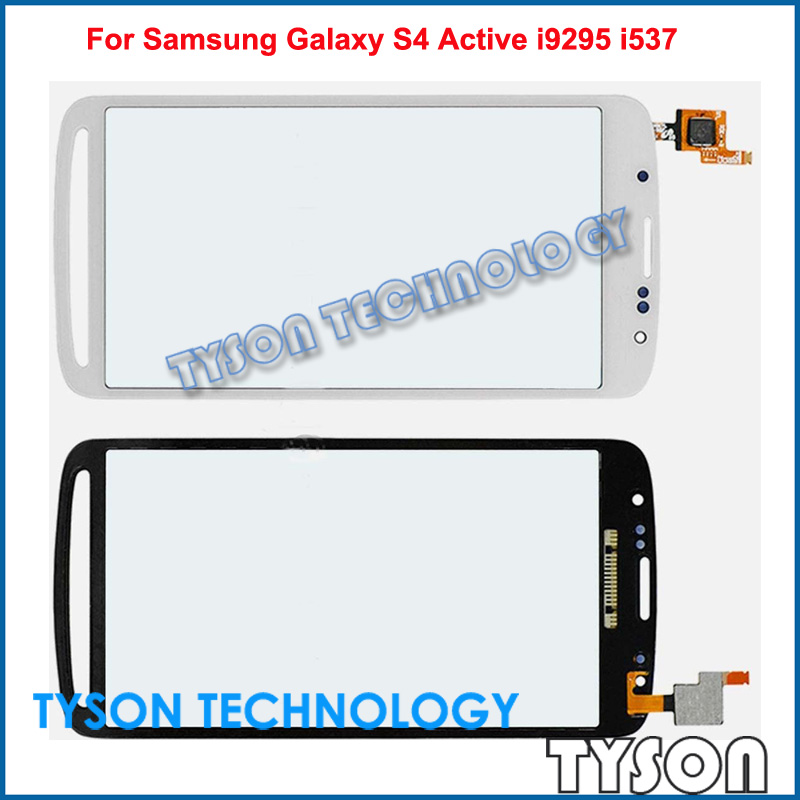 For Samsung Galaxy S4 Active i9295 i537 Touchscreen Glass Pannel Touch Screen Lens Digitizer Free Shipping(China (Mainland))