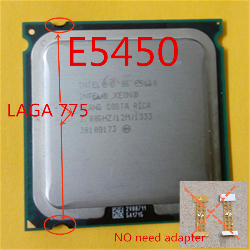 INTEL XEON E5450 CPU 3.0GHz /L2 Cache 12MB/Quad-Core/FSB 1333MHz/server Processor working on some 775 socket mainboard free gift(China (Mainland))