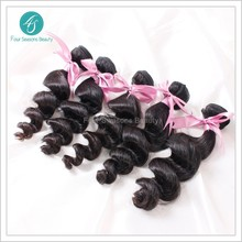 Virgin Brazilian Loose Wave Virgin hair Bundles 3pcs lot Natural 1B One Donor Young Girl Human Hair FREE SHIPPING by DHL(China (Mainland))
