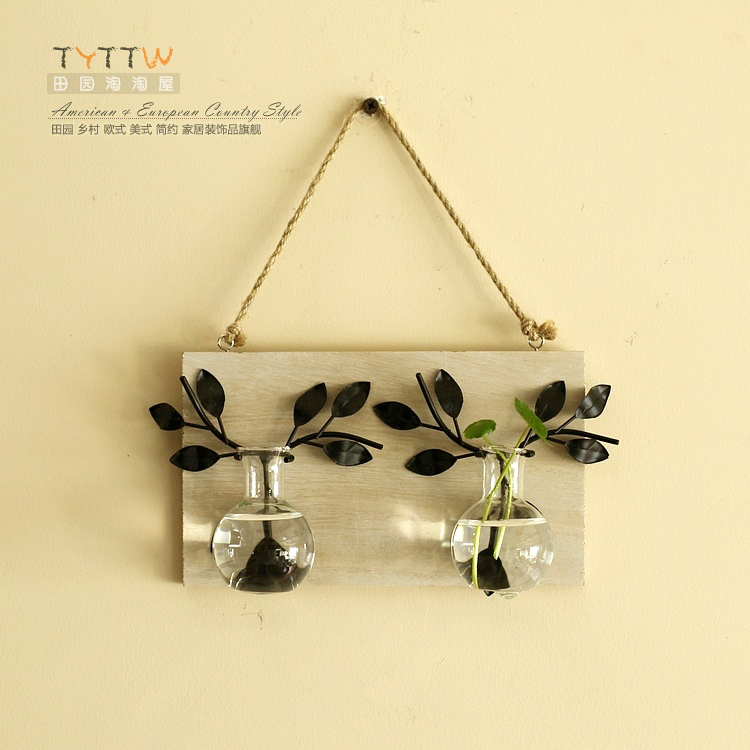 Magic Cup flower bed flower wall decorations wooden wall Home Furnishing Mediterranean Garden mural.(China (Mainland))
