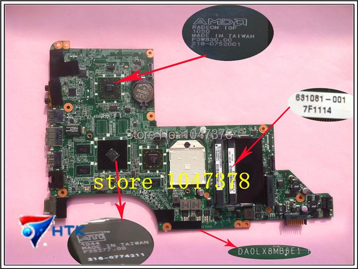 Wholesale DA0LX8MB6E1 for HP DV6 DV6-3000 DV6Z-3000 Series 631081-001 DDR3 laptop Motherboard Mainboard 100% Work Perfect<br><br>Aliexpress