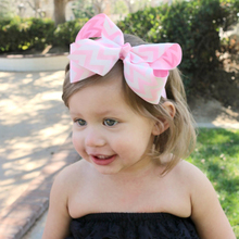 1 pieces New Arrive Baby Bow Knot Headband Cartoon Flower Hair Band Baby Headband Elasticity Accessories W167