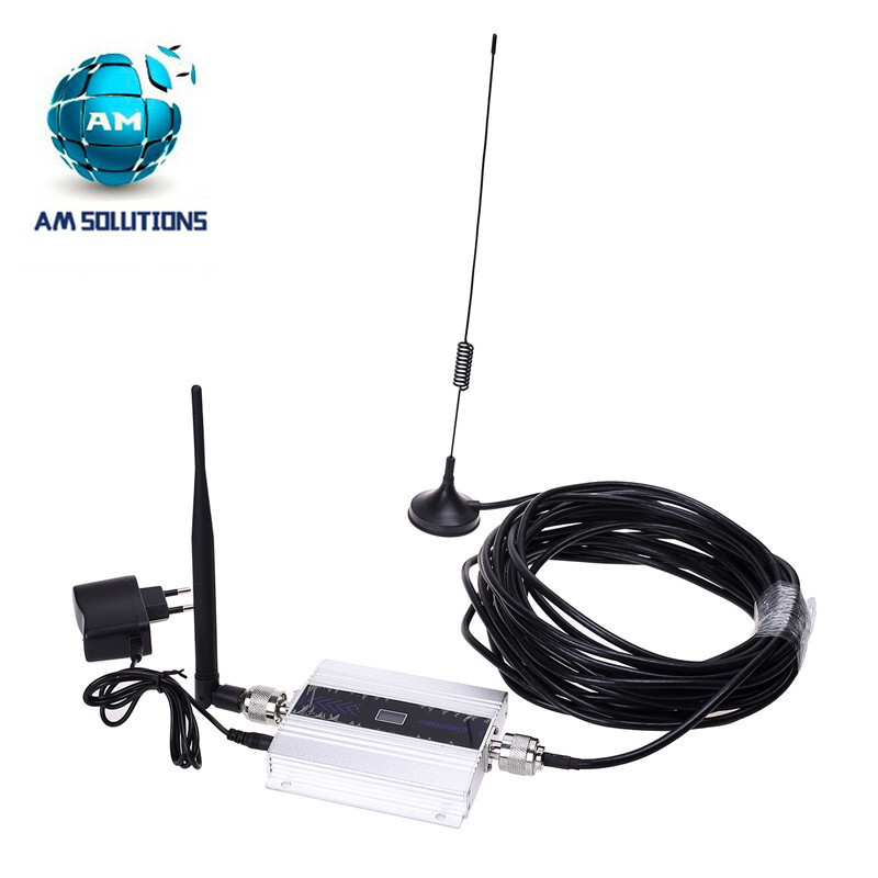 Mini GSM 900MHz repater cell sigal booster GSM repeater amplifier with LCD display and outdoor indoor antenna(China (Mainland))