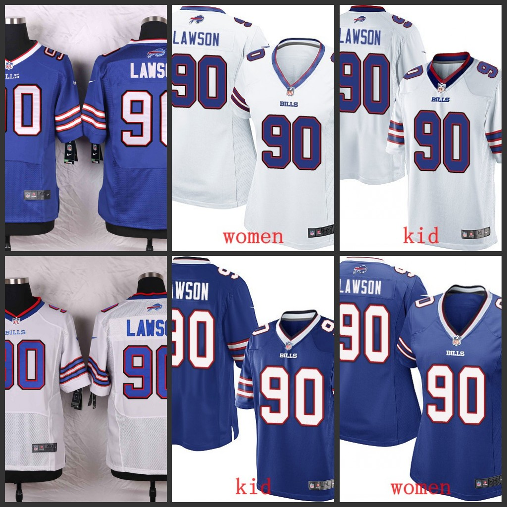 nfl Buffalo Bills Shaq Lawson YOUTH Jerseys