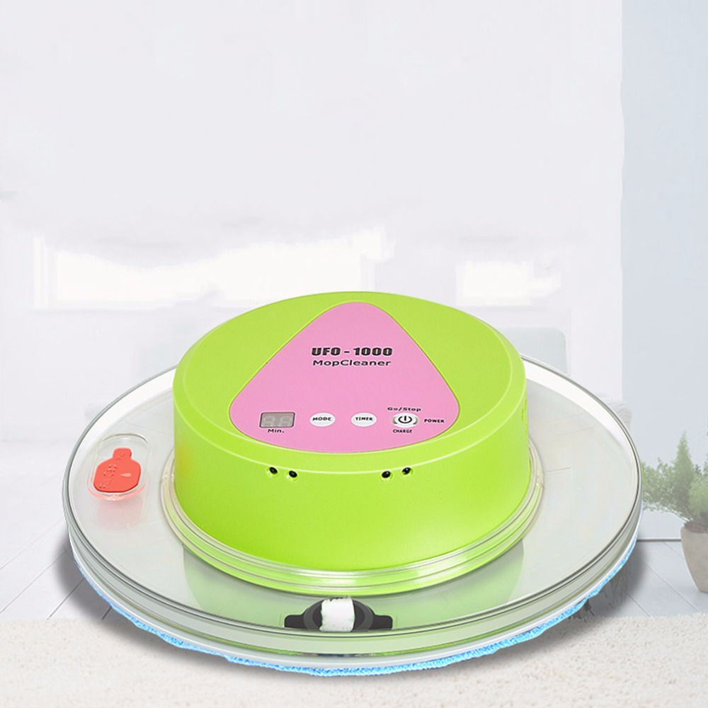 Robot Vac Mop UFO Shaped intelligent Auto Robotic Vacuum Cleaner(China (Mainland))