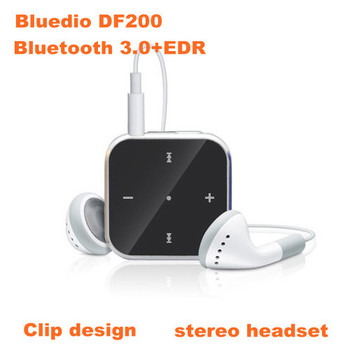 Bluedio DF200 V3.0 + EDR Unique Bluetooth Clip design Handsfree Wireless Stereo Sports Headset Earphone freeshipping HKPAM