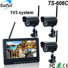Supports the NTSC/PAL video output security camera Digital video recorder with motion detection wireless Surveillance Camera