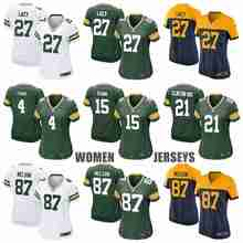 Green Bay Packers Clay Matthews Eddie Lacy Ha Ha Clinton-Dix Bart Starr Aaron Rodgers Brett Favre Randall Cobb for women(China (Mainland))