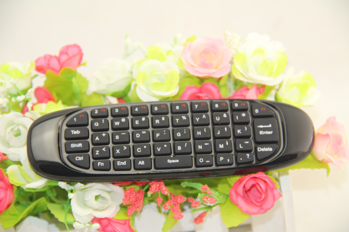 Gyroscope Fly Air Mouse T10 C120 Gaming keyboard Android Remote Control 2.4Ghz Wireless Game Keyboard For Smart Tv Box Mini PC(China (Mainland))