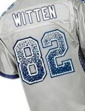 New Hot Mens 21 Elliott Wholesale Black White Blue Gray Size XXXL 82 Witten Jerseys(China (Mainland))