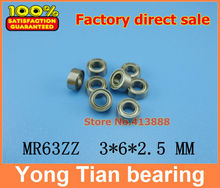 Low-speed bearings MR63 Z MR63ZZ L-630ZZ WA673ZZA 3x6x2.5 mm helicopter model car available