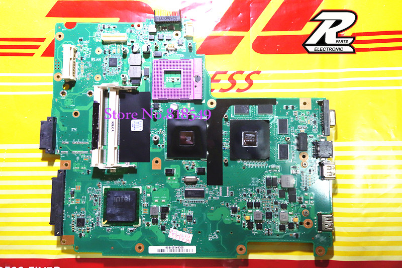 For Asus motherboard N61VG REV 1.1 1GB N10P-GV2-C High Quality Free shipping original NEW(China (Mainland))