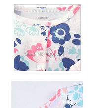 2015 New 3 pcs Set Original Carter s Baby Girls clothes Sleeve bodysuit Pants Carters 100