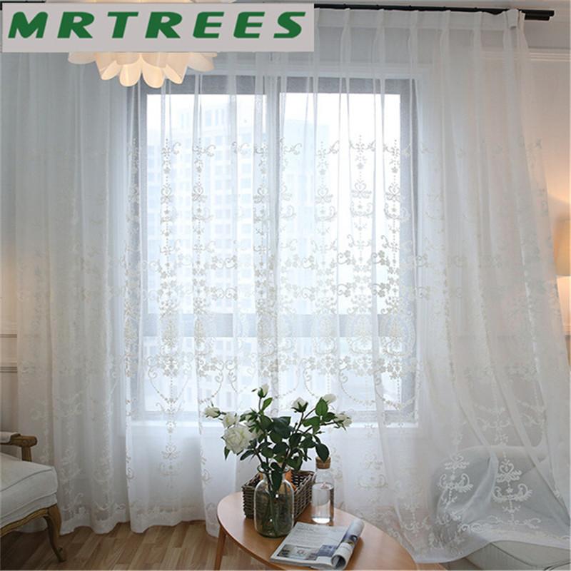 Wit voile gordijnen koop goedkope wit voile gordijnen loten van chinese wit voile gordijnen - Gordijnen voor moderne woonkamer ...