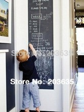 200*45 drawing toy blackboard novelty Removable Vinyl Draw Decor Mural Decals Art Chalkboard(China (Mainland))