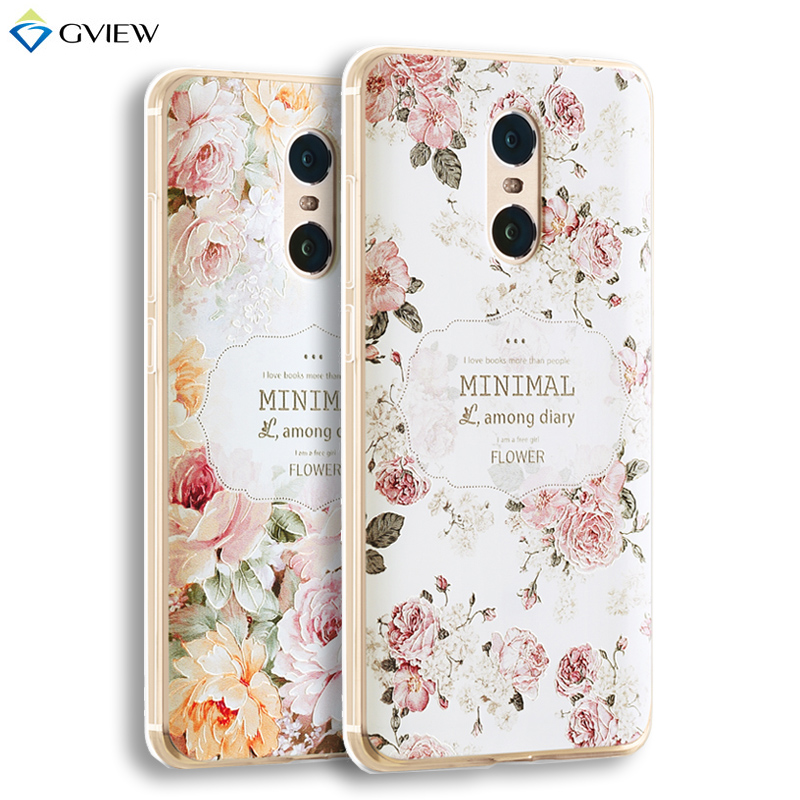 "3D Relief Printing Clear Soft TPU Case xiaomi Redmi note 4 / Redmi Note 4 Pro / Prime 5.5"" Phone Bag Back Cover Shell Coque"