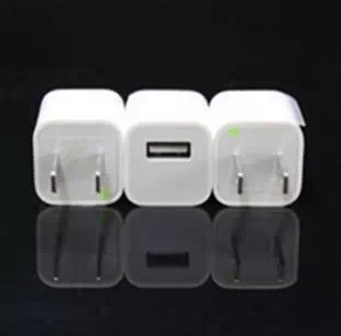 High Quality Original Charger Adaptor For Iphone 4/4s 5S With Data Line Color White Hot Sale Free Shipping(China (Mainland))