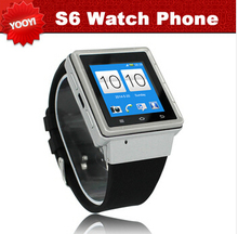 2014 Original 3G Smart Watch Phone Android GPS Wifi ZGPAX S6 MTK6577 Dual Core Bluetooth cell phone mobile smartwatch Russian(China (Mainland))