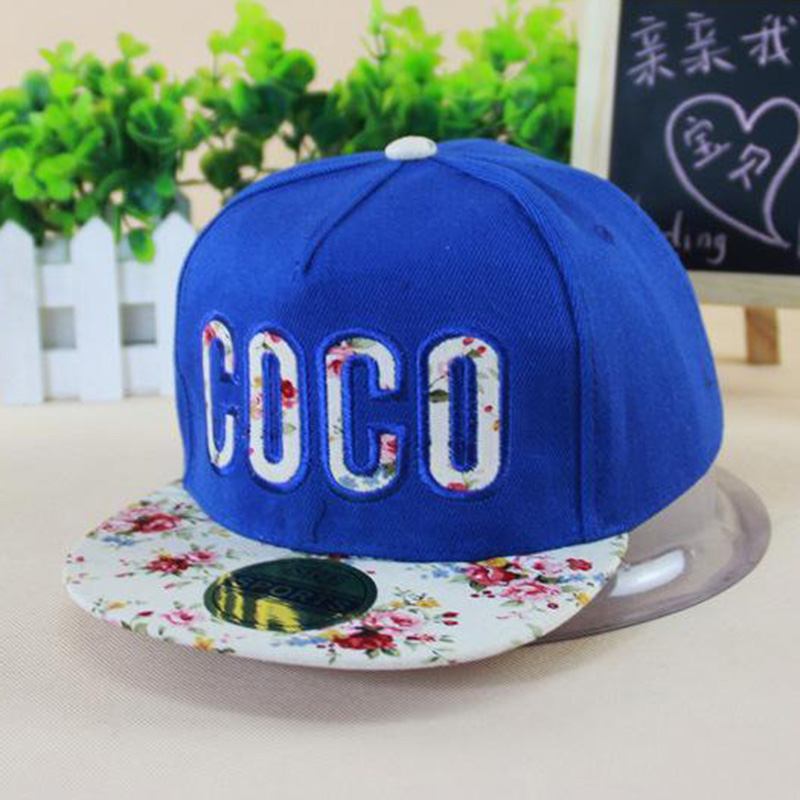 store product  hot sale COCO D letter baseball caps winter summer new children hats get out cap