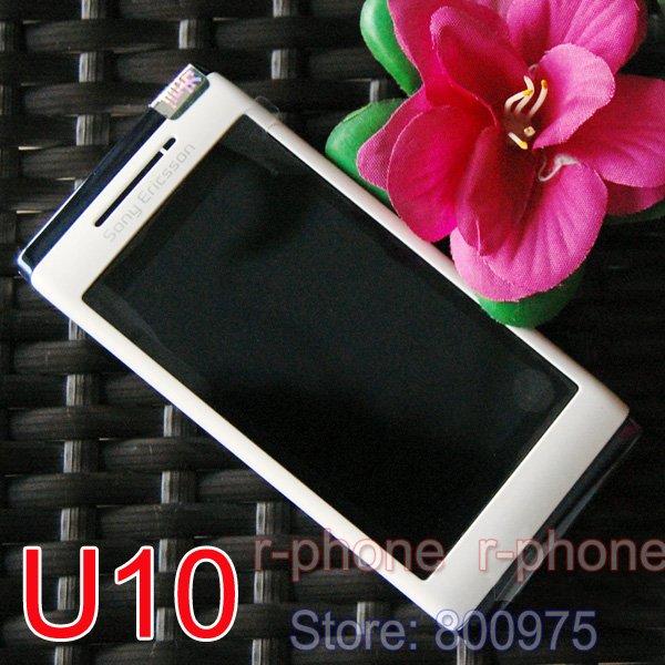 Original U10i Sony Ericsson Aino u10 Mobile Phone 3G 8.1MP Wifi Unlocked Refurbished Russian Keyboard(China (Mainland))