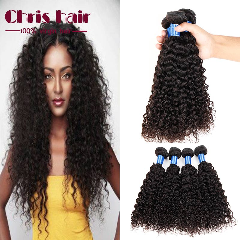 Malaysian Virgin Hair 4 Bundles Kinky Curly Virgin Hair Weave Rosa Hair Products 7a Malaysian Curly hair Malaysian Kinky Curly