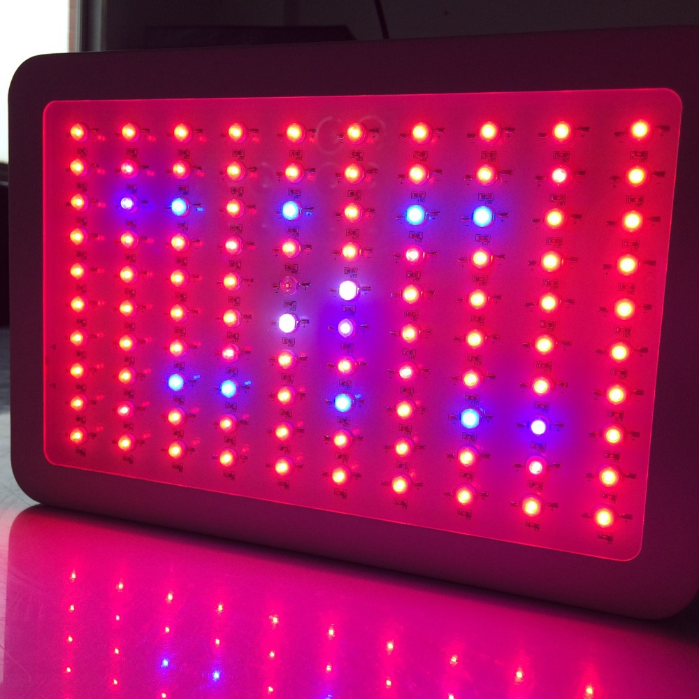 Hot sale 9-band Full Spectrum 300W Led Grow Light Hydroponic Grow Leds with 100% quality warranty CE FCC RoHs approved fast ship(China (Mainland))