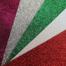 "5 Pcs 12*12"" Colorful High Grade Glitter Paper Decorated silver glitter paper for christmas JC Manufacturer Direct Supplies(China (Mainland))"
