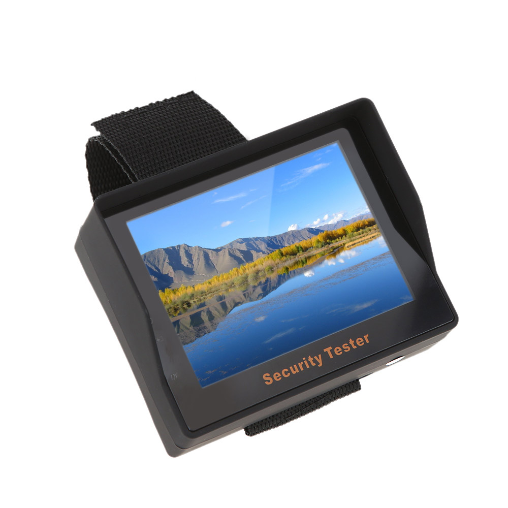 New Arrival 3.5 inch TFT LCD CCTV Tester Portable CCTV Monitor Tester Security Surveillance Camera Tester Video Tester(China (Mainland))