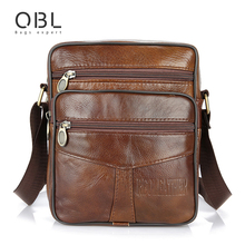 Buy Cow Genuine Leather Messenger Bags Men Casual Travel Business Crossbody Shoulder Bag Man Sacoche Homme Bolsa Masculina MBA19 for $20.00 in AliExpress store